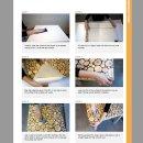 Klebefolie - Möbelfolie Holz dunkel mit goldfarbenen...