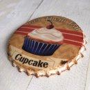 Untersetzer Set - 4 teilig im Antik Look - Kuchen Donuts...