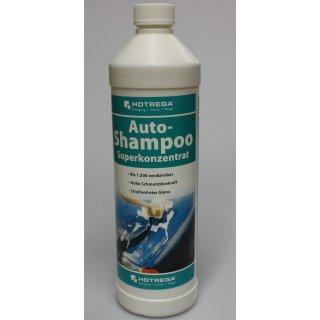 Hotrega Autoshampoo, Superkonzentrat, 1000ml für PKW, Motorrad, Nutzfahrzeug, Bus