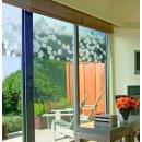 1,50m x 0,46m LINEA Fix statische Dekorfolie Fensterfolie...