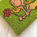 Kokosmatte Fußmatte Kokos Prinzessin - Fee  22x37 cm