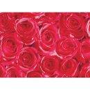 Klebefolie - Möbelfolie - rote Rosen - Dots - 45 cm...