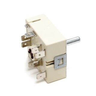 Energieregler EGO 5055021100 Zweikreisregler rechts steigend für AEG Electrolux 305170621, Bosch / Siemens 605922