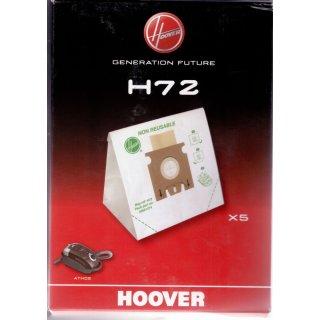 Hoover Papier Staubsaugerbeutel H72 - 5 Stück Packung - Nr.: 35601374