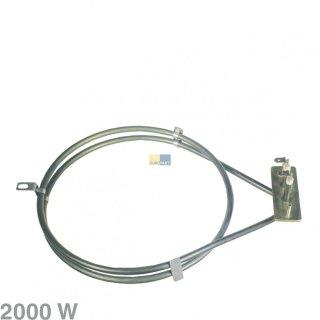 Backofen Heißluft Heizelement 2000W für Amica 8001785, Quelle 02297588