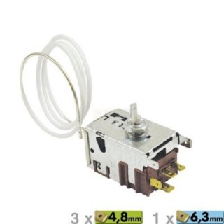 Danfoss Thermostat 077B5219 für Kühlschränke von AEG Electrolux 242502123, Quelle