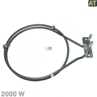 Backofen Heißluft Heizelement Ringheizung 2000W passend für Electrolux 357042405, Zanker, Privileg 01006480, 7164R481