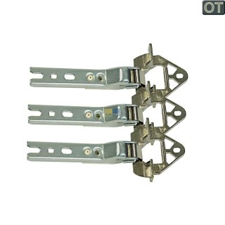 3 Tür-Scharniere Einbau für Kühlschrank Bosch Siemens Neff Conctructa 268699, Whirlpool 481241718776