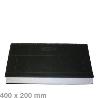 BSH Bosch Siemens Neff Aktiv Kohlefilter 400x175/200mm für Dunstabzugshauben Nr.: LZ45501  / 434229