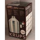 Krups Original Auto-Cappuccino Set XS6000 Espresseria inkl. Milchbehälter mit gebürstetem Edelstahl