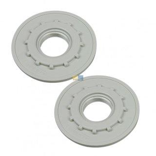Miele Original 2 x Gegenmutter für Sprüharm-Zuflussrohr in Spülmaschinen von Miele - 2932066