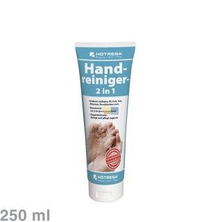 Hotrega Handwaschpaste 250ml mit Rückfettung - Entfernt Öle, Fette, Teer, Bitumen ua.