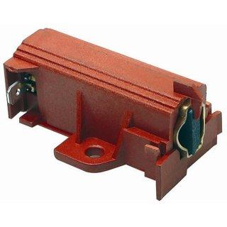 Candy Hoover Motorkohle, Kohlebürste mit Halter für SOLE / ACC Motoren - Nr.: 49000466, ersetzt 49028931