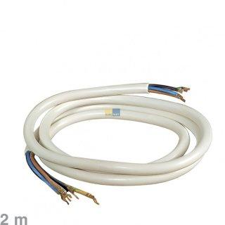 Herdanschlusskabel, Herdanschlussleitung 2 m - Steckkabelschuhe auf Quetschverbinder