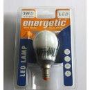Energetic LED Lampe Mini Globe Warm White 15 Watt, E14,...