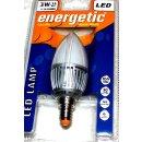 Energetic LED Lampe E14, Kerzenform, Matt, Warmweiß...