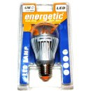 Energetic LED Lampe 6W High-Power E27 Glühlampe...