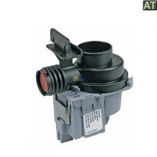 Ablaufpumpe mit Pumpenstutzen, Pumpe passend für Spülmaschine AEG Electrolux 111098410, 111098410/9  -AUSLAUF-
