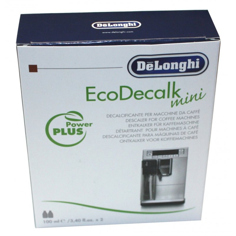 delonghi entkalker ecodecalk mini 2 x 100ml f r kaffeevollautomaten kaffeemaschinen nr. Black Bedroom Furniture Sets. Home Design Ideas