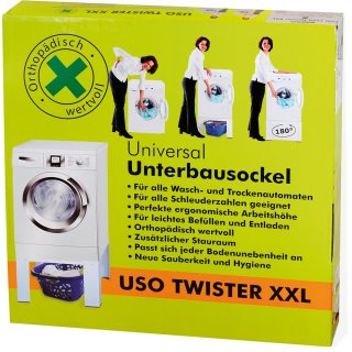 scanpart universal unterbausockel uso 1140 twister f r trockner und waschmaschinen b ware. Black Bedroom Furniture Sets. Home Design Ideas