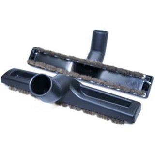 Variant Staubsaugerdüse, Staubsaugerbürste, Hartbodenbürste Ø 32mm, mit Naturhaar und Kunststoffrollen