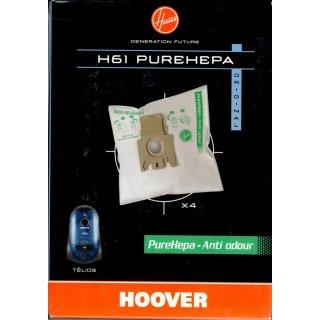 Hoover Staubsaugerbeutel H61 Purehepa für Staubsauger Telios - Nr.: 35600398