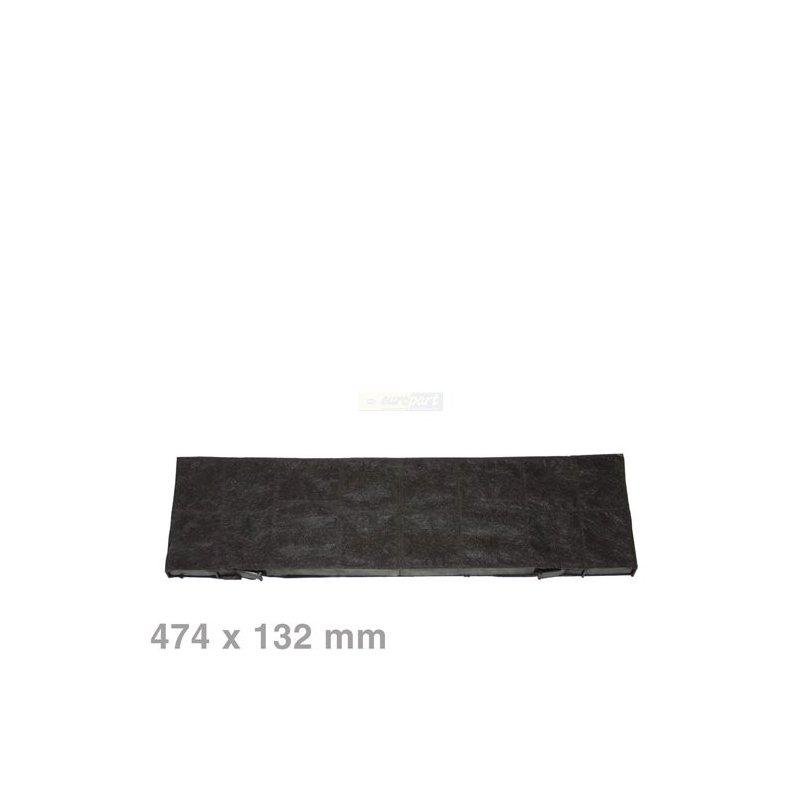 bosch siemens aktivkohlefilter kohlefilter kf250 055 rechteckig 474x132mm f r dunstabzugshaube. Black Bedroom Furniture Sets. Home Design Ideas