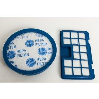 Candy Hoover Filter-Set, Staubsaugerfilter, Vormotor-Filter, Abluftfilter U64 - Nr.: 35601223