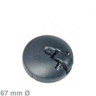 Bosch Siemens Laufrolle, Lenkrolle Rad vorne mit Stahlachse für Bodenstaubsauger - Nr.: 00027606, 027606