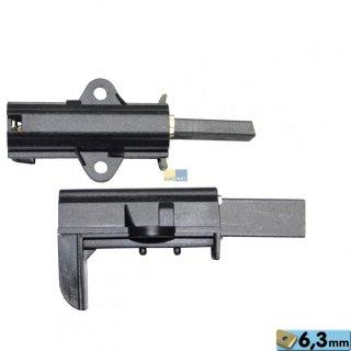 Motorkohlen, Kohlebürsten 6,3AMP 12,5x32mm passend für Waschmaschine Arçelik, Beko Nr.: 371201201