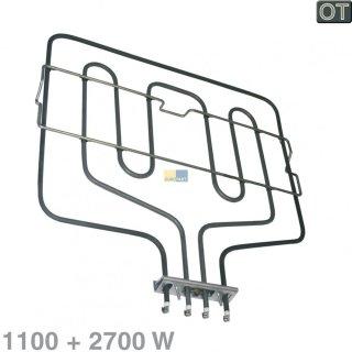 Bosch Siemens Neff Constructa Heizung, Heizlement Oberhitze / Grill für Backofen - Nr.: 290149