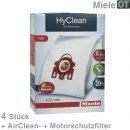 Miele Staubsaugerbeutel, Staubbeutel Typ F/J/M HyClean 3D...
