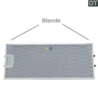 Bosch Siemens Fettfilter, Metallfilter vorne, rechteckig mit einseitiger Entriegelung für Dunstabzugshaube - 00434105, 434105