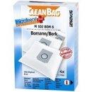 CleanBag Staubsaugerbeutel M102BOM6 für Bomann B43 /...