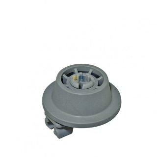 Bosch Siemens Korbrolle, Rolle mit Rollenhalter für Spülmaschine, Geschirrspüler - Nr. 611475
