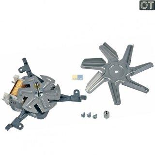daniplus© Heißluftventilator, Gebläsemotor, Ventilator 35W passend für Bosch Siemens Backofen - Nr. 490541