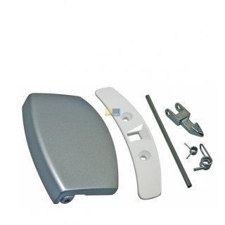 daniplus© Türgriff, Handgriff Set silber passend für AEG Electrolux Waschmaschine 405508555/1, 405508555
