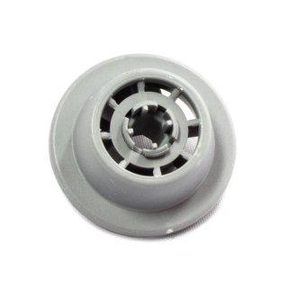 daniplus© Korbrolle, Rolle mit Rollenhalter passend für Bosch Siemens Spülmaschine, Geschirrspüler 611475