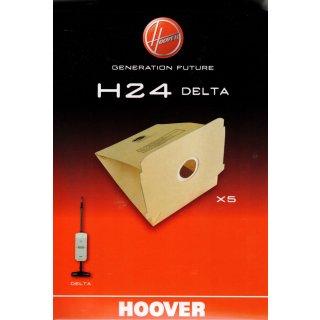 Hoover Staubbeutel, Staubsaugerbeutel H24 Delta für Staubsauger Delta / 09178435