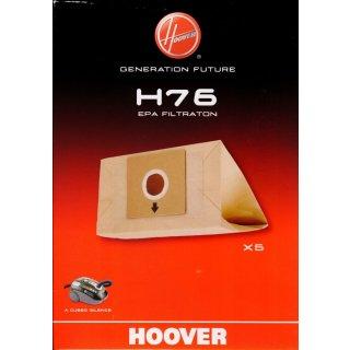 Hoover Staubsaugerbeutel, Staubbeutel H76 HEPA Filtration für Cubed Silence -  Nr. 35601668