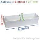 Bauknecht Whirlpool Türablage, Flaschenfach, Ablage Kühlschrank - Nr. 481241848957, ersetzt 481010464931