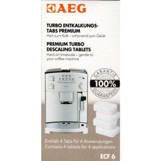 AEG Electrolux Entkalkertablette ECF6, Kaffeemaschinen Entkalker, 4 Tabs - Nr. 900167297