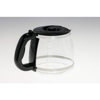 Glaskanne, Kanne für Russel Hobbs Kaffeemaschine 14421-56, Schwarz, Nr.: 169372/RH