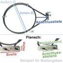 AEG Electrolux Heizelement Heißluft für Herd, Backofen - Nr. 315691401