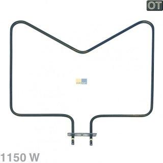Bauknecht Whirlpool Heizung, Heizelement Unterhitze 1150W, 230V für Herd, Backofen - Nr. 480121100591
