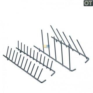 Korbeinsatz für Oberkorb, klappbare Teller Ablagen für Bosch Siemens Spülmaschine 489467