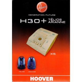 Hoover H30+ Staubsaugerbeutel, 5 Papierbeutel für Telios, Arianne - Nr. 09178286