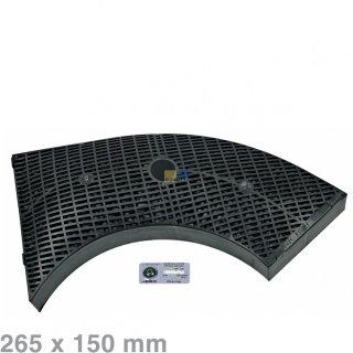 AEG Electrolux Kohlefilter 265x150mm, Elica Modell 10 - Nr.: 9029793800