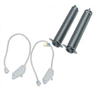 Reparatursatz Türscharnier, Feder, Seilzug passend für Bosch Siemens Spülmaschine, Geschirrspüler - Nr.: 754870