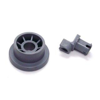 daniplus© Korbrolle unten, Unterkorb passend für Bosch Siemens Neff Constructa Spülmaschine 165314